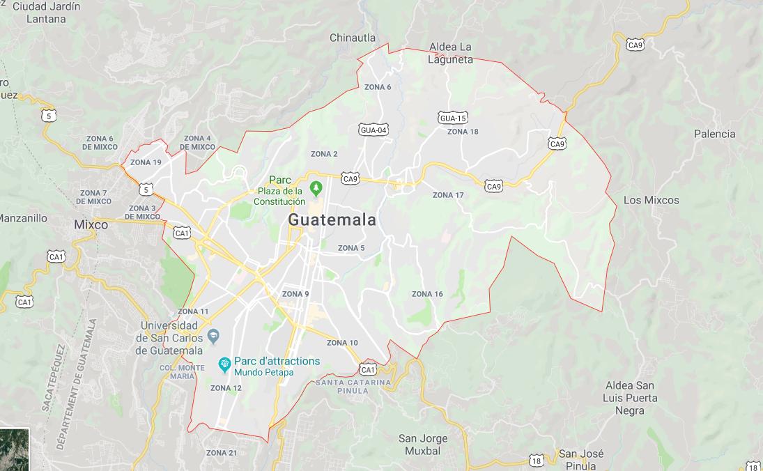 guatemala ville - capitale du guatemala